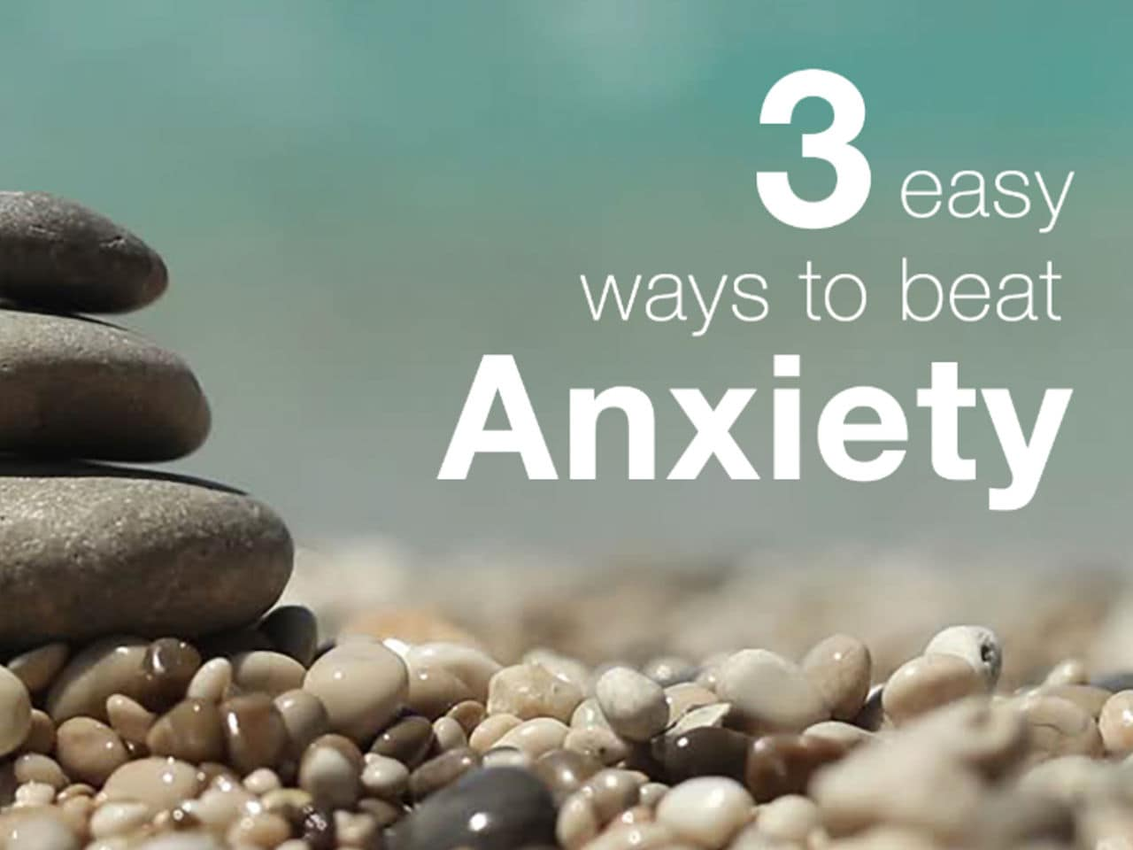 3 Quick Things to do when you feel Anxious or Unsettled